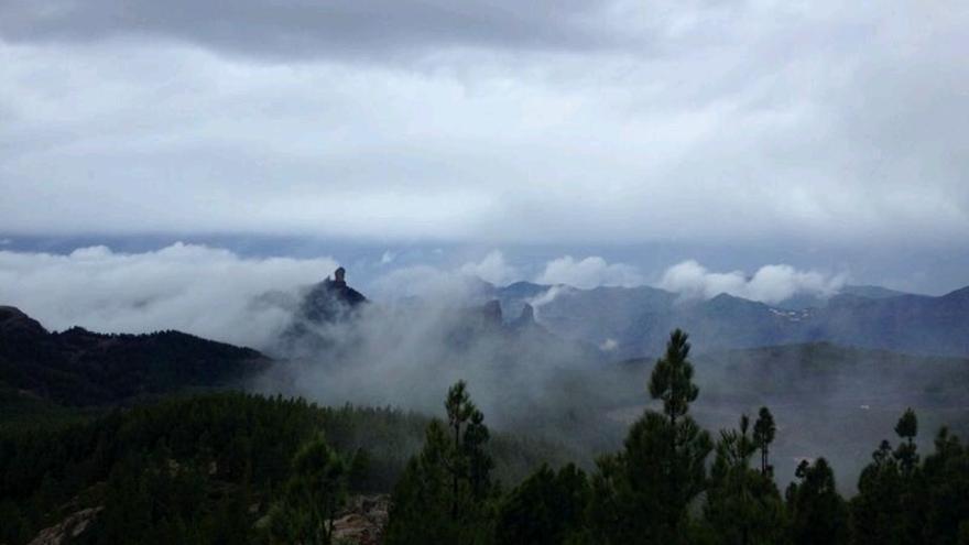 La cumbre de Gran Canaria. Foto: Iago Otero.