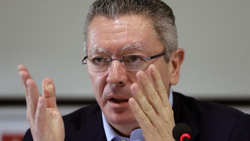 Gallardón destaca necesidad de cambiar el sistema electoral ante descontento