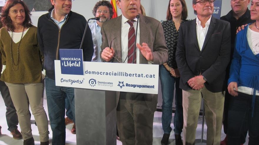 Democracia y Libertad analiza este lunes en Madrid sus opciones para formar grupo propio en Congreso y Senado
