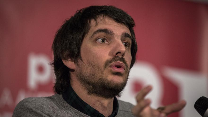 Ernest Urtasun, eurodiputado de ICV-EUiA, en el encuentro del 'Plan B' celebrado este 20 de febrero en Madrid.