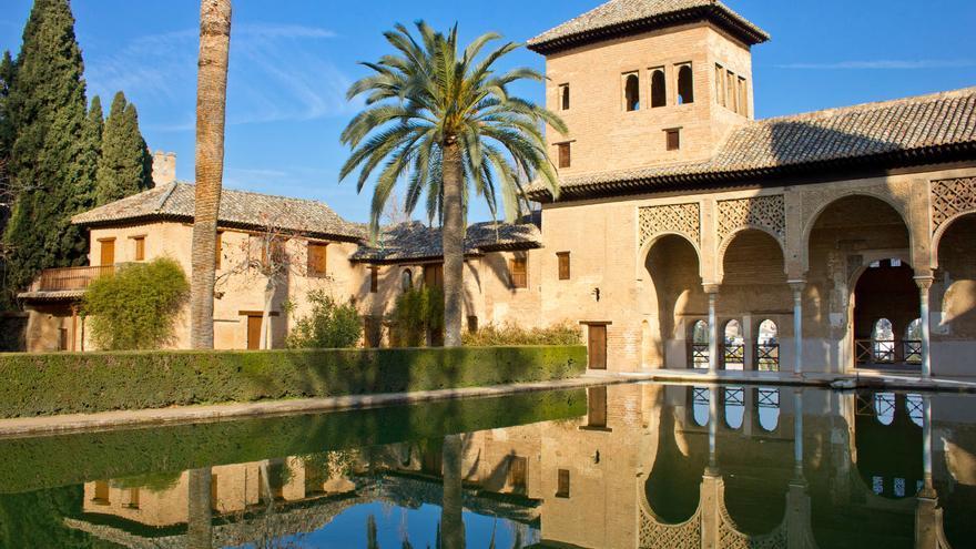 Palacio de El Partal, ultimo de los Palacios Nazaríes.