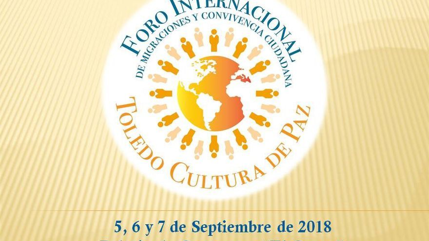 Cartel Foro Internacional Toledo Cultura de Paz