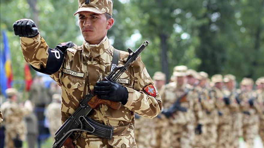 Rumanía reducirá este año de 1.200 a 200 sus soldados en Afganistán