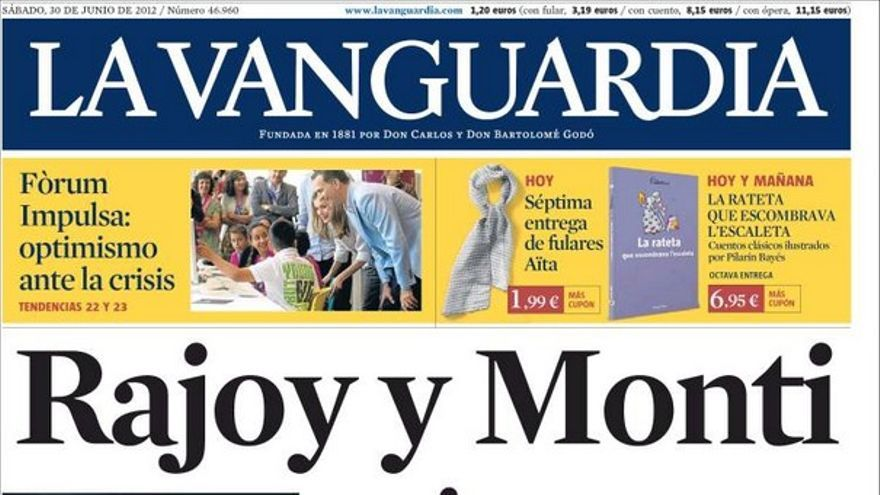 De las portadas del día (30/06/2012) #6