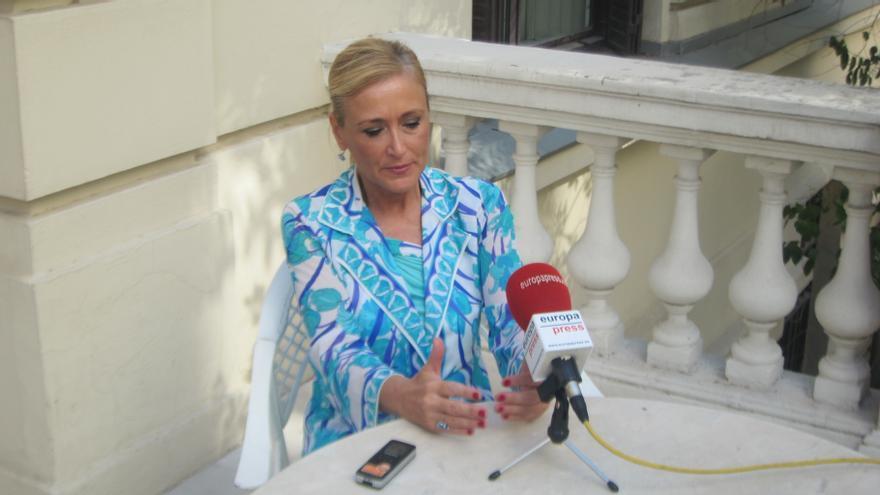 Cifuentes insiste en que no se plantea presentarse a la Alcaldía de Madrid y pide que se zanje este asunto
