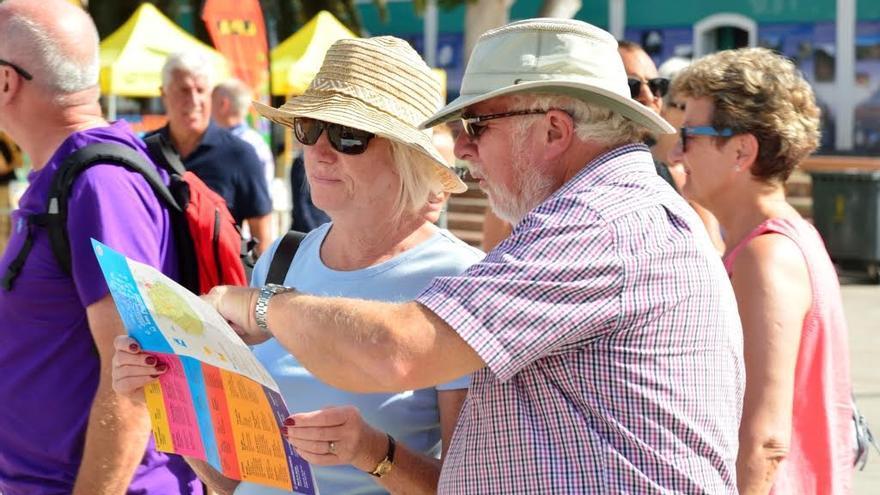 Celebración del Día del Turismo en Las Palmas de Gran Canaria.(TONY HERNÁNDEZ)