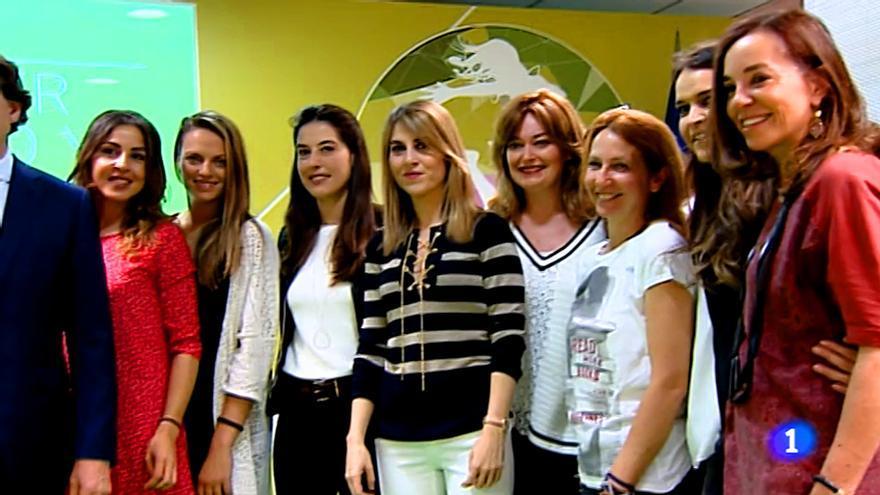 Periodistas deportivas de TVE, Atresmedia y Movistar, juntas por la mujer, el deporte y la salud