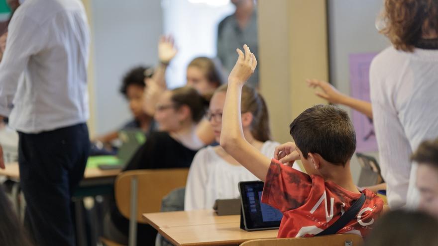Niños en el aula.