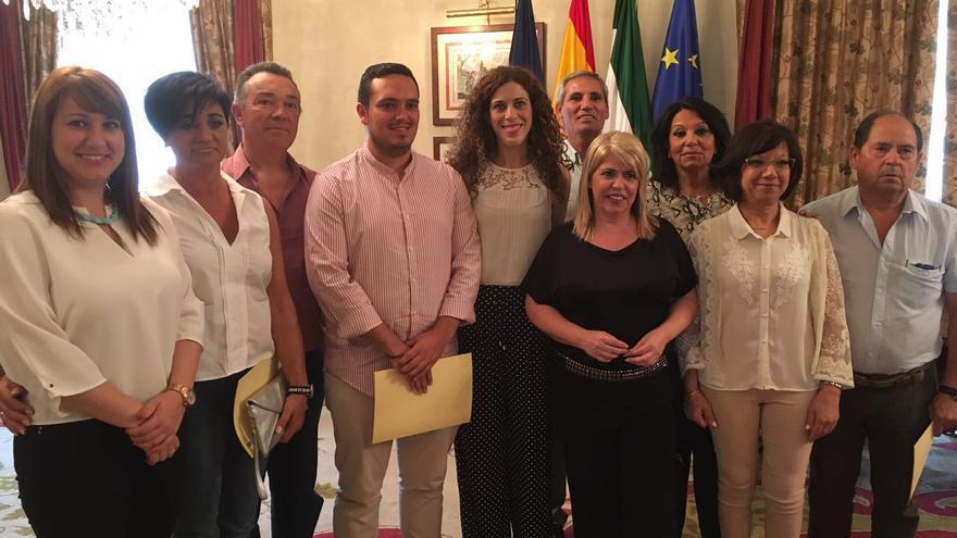 Isabel Armario, a la izquierda, podría ser el relevo de Mamen Sánchez.