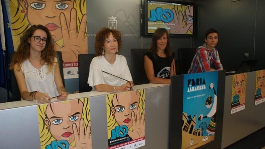Presentación de la campaña en el Ayuntamiento de Albacete