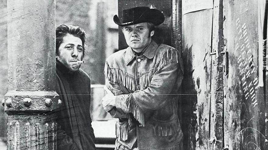 Cartel de 'Cowboy de medianoche'