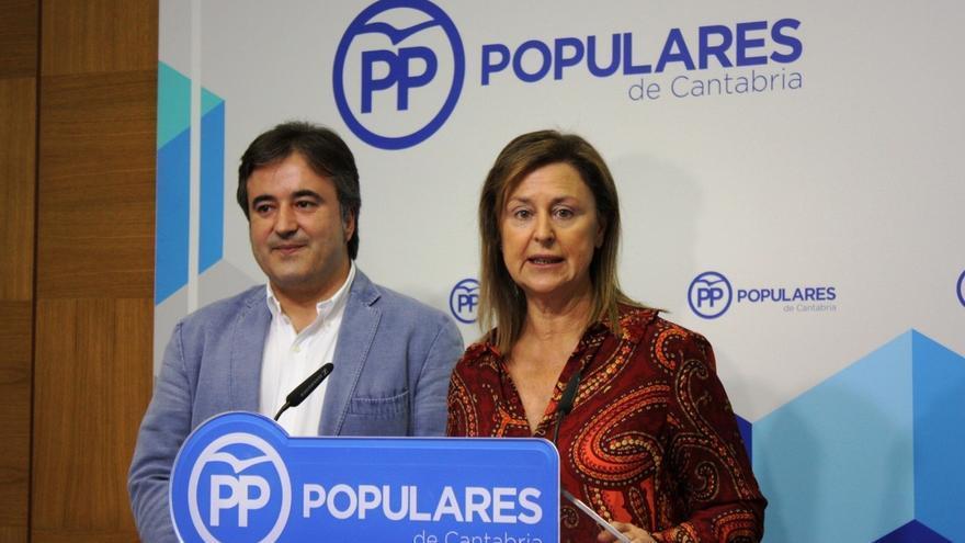"""Madrazo y Movellán exigirán al Gobierno que cumpla con Cantabria y temen que Revilla sea """"mascota"""" de Sánchez"""