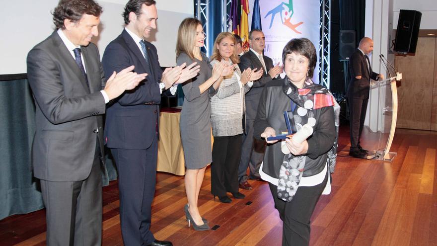 Entrega del Premio estatal del voluntariado social