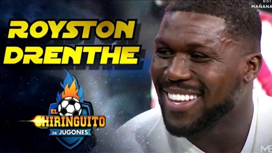 Royston Drenthe, fichaje de 'El Chiringuito'