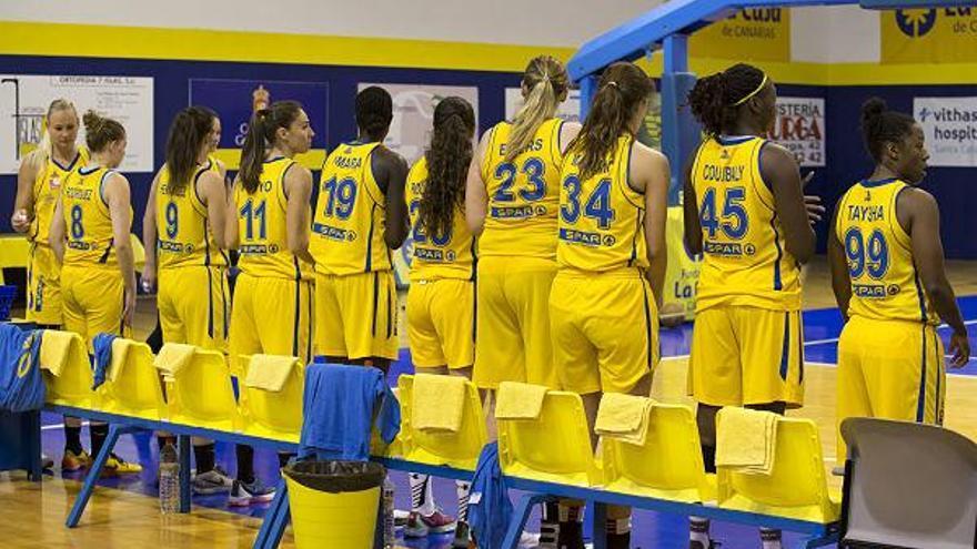 Las jugadoras del SPAR Gran Canaria.