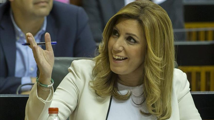 "Susana Díaz acusa al ""bloque del no"" de paralizar Andalucía"