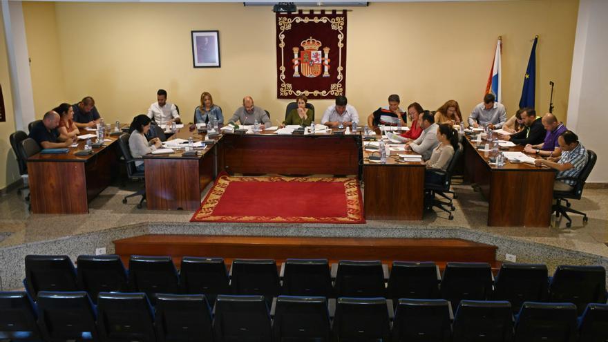 Pleno del Ayuntamiento de Mogán