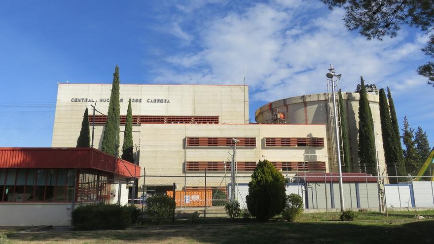 Antigua central nuclear de Zorita.