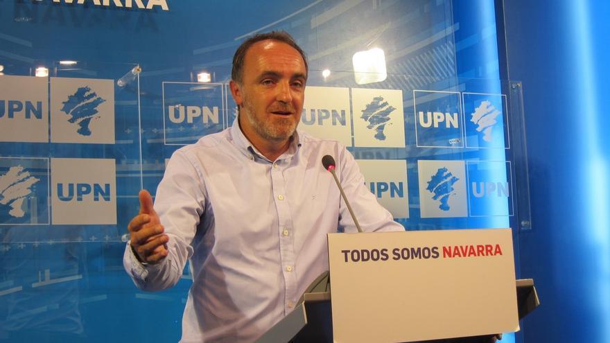 """Esparza (UPN) dice que ante el comunicado de desarme de ETA """"hay formaciones que quieren olvidar rápido"""""""