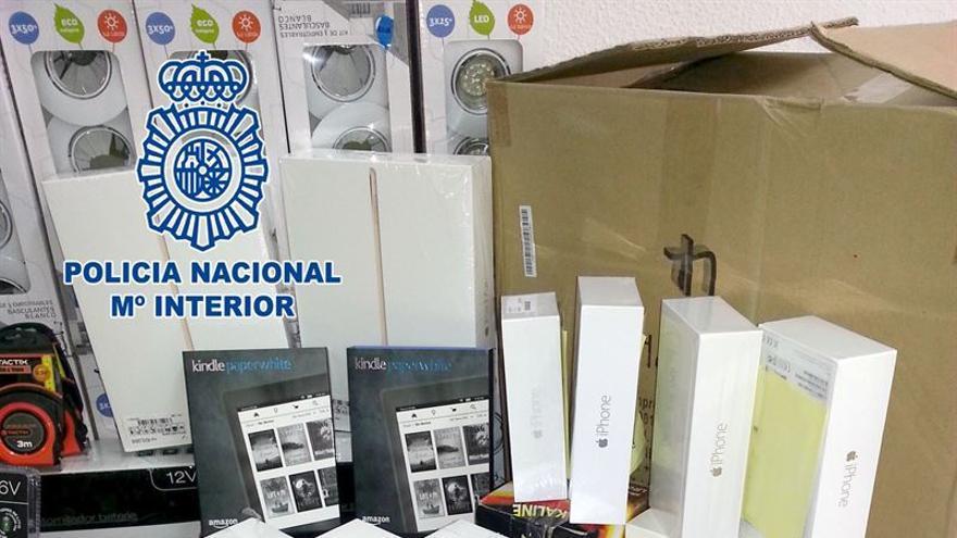 Los objetos robados están valorados en más de 50.000 euros.