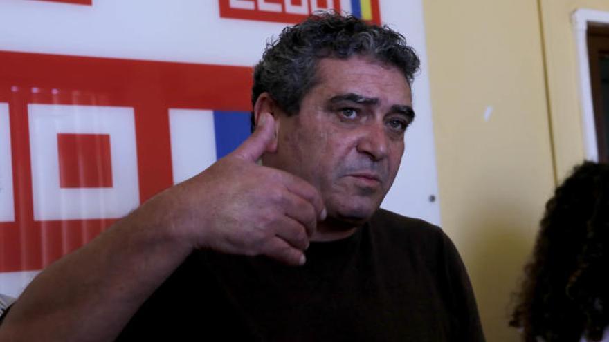 Inocencio González, recién elegido secretario general de CC en Canarias