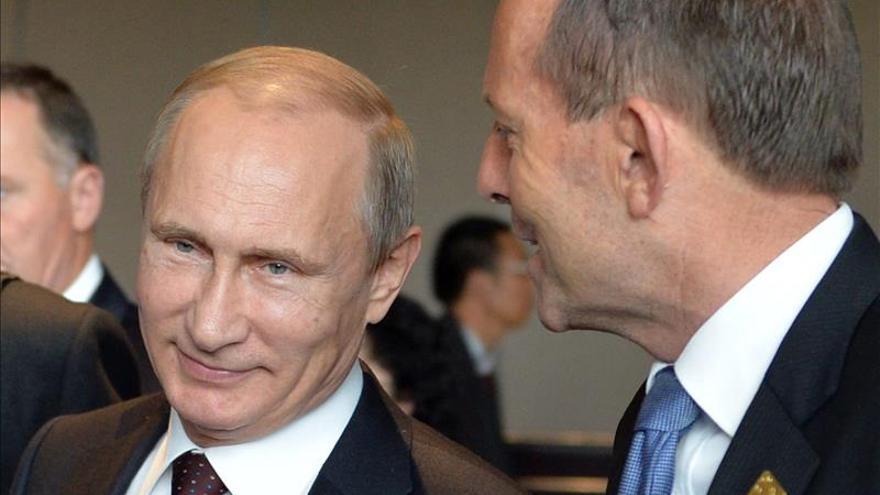 Putin y Abbott hablan sobre el vuelo MH17