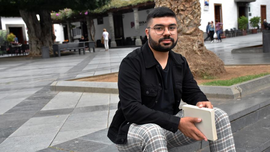 El periodista palmero Natalio Cruz Duque.
