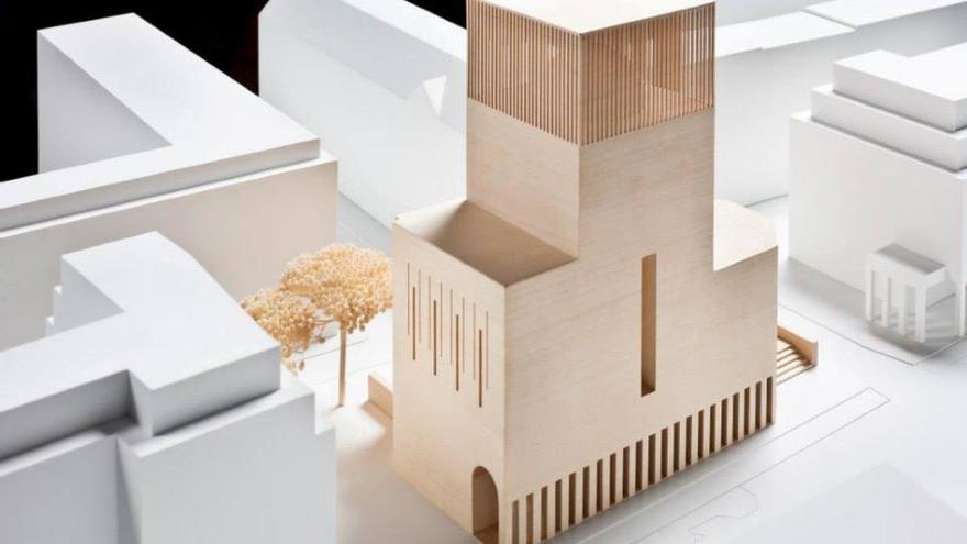 Maqueta del templo House of One