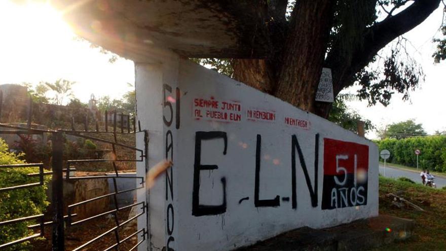 """El ELN amenaza con un """"paro armado"""" en el este de Colombia la próxima semana"""