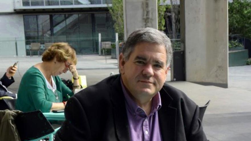 Patrick Duguay, prsidente del Chantier de l'Economie Sociale del Quebec, en Barcelona Activa