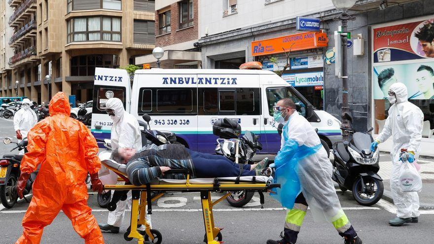 Euskadi registra 349 casos de COVID-19 en una jornada con 57 ingresos y una positividad del 4,9%
