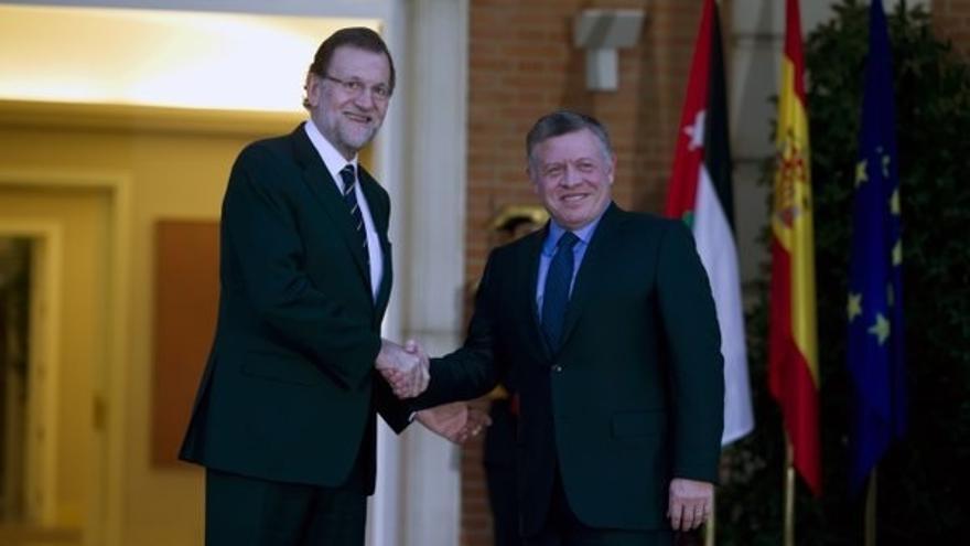 Rajoy y el rey de Jordania respaldan el proceso de Viena y ven en Siria el principal escenario contra el terrorismo