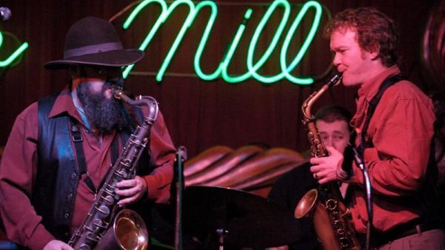 Actuación en The Green Mill, uno de los mejores locales de Jazz de Estados Unidos. The Green Mill
