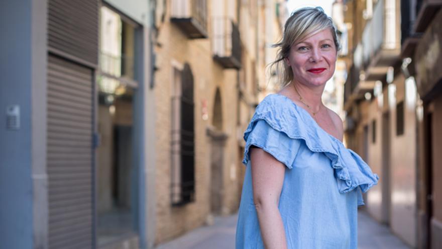 Erika Chueca, coordinadora del proyecto de Médicos del Mundo Aragón para la atención de personas en situación de prostitución.