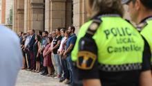 Castellón ha guardado un minuto de silencio por las dos niñas asesinadas por su padre