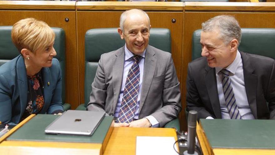 """Urkullu censura el inmovilismo de EH Bildu, que """"frustra"""" mejoras en Euskadi"""