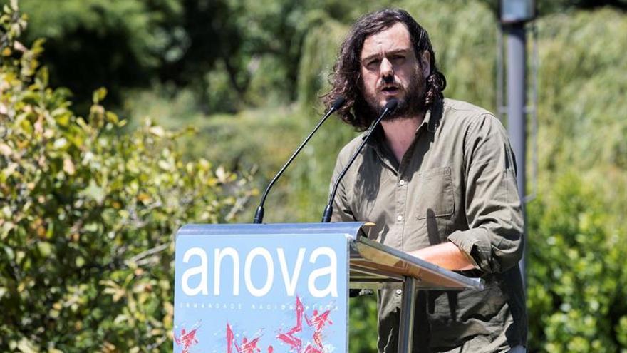 Antón Sánchez, portavoz nacional de Anova, en una imagen de archivo