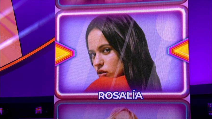 Rosalía, en el pulsador de Nerea Rodríguez en 'TCMS 8'