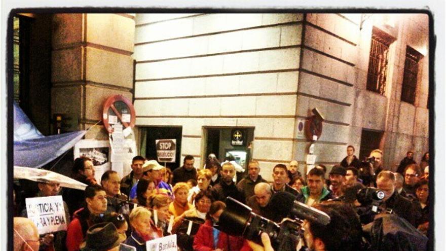 Mani #AcampadaBankia 9/9/2012 -- 3