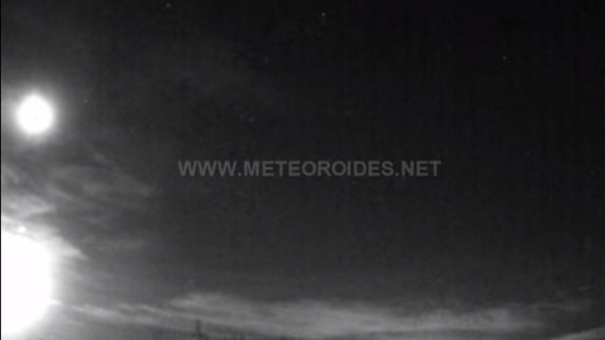 Captura de una roca de asteroide sobre la provincia de Toledo
