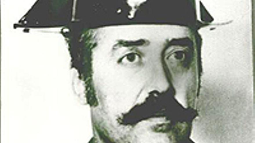 Antonio Tejero Molina, cuando llevaba tricornio.