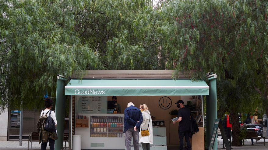 """GoodNews, la iniciativa que reinventa el quiosco a través del """"buen rollo"""""""