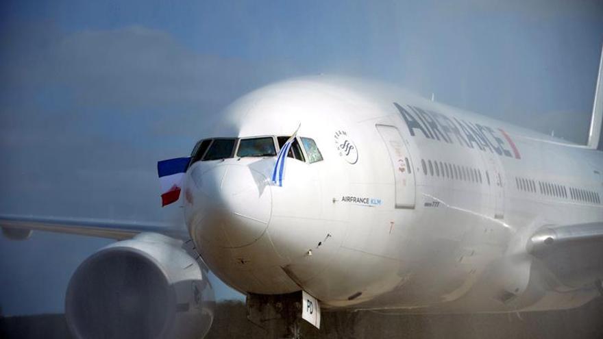 Los trabajadores de Air France convocan huelgas para cuatro días de marzo