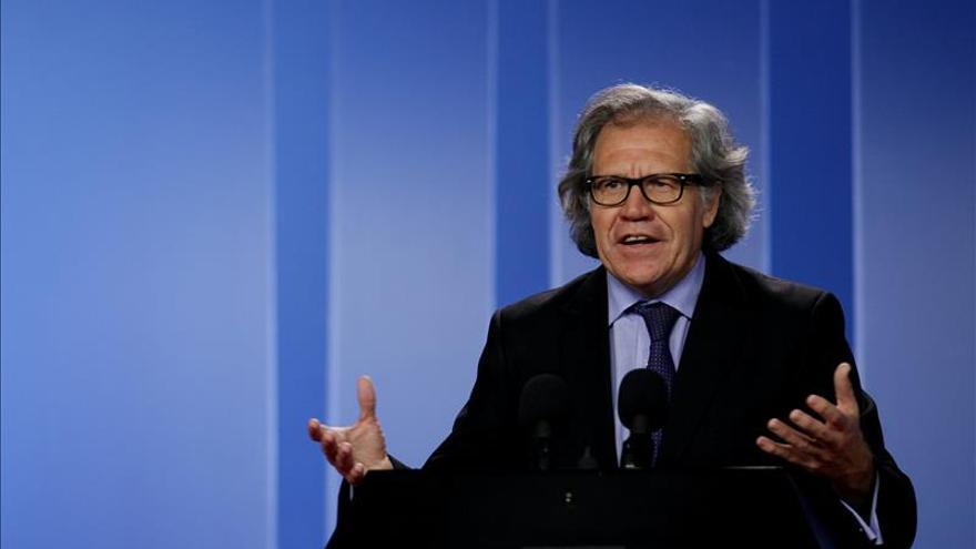 El secretario de la OEA pide que no se distorsione la voz del pueblo venezolano