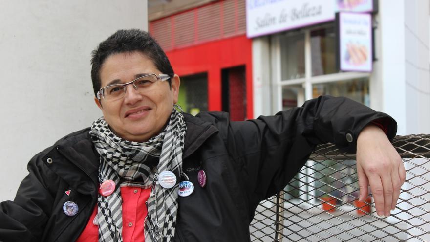 Chusa Herrero, Secretaria de Movimientos Sociales de Alternativa Socialista Cli AS