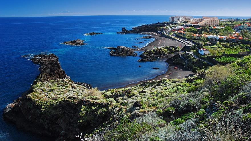 Imagen del núcleo turístico de Los Cancajos, en Breña Baja.