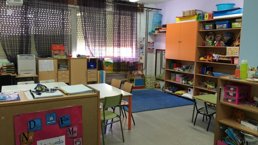 Aula TEA del colegio público Vicente Aleixandre de Alcorcón. / CP Vicente Aleixandre