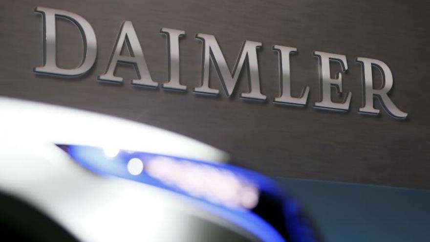 Daimler gana 5.940 millones de euros hasta septiembre, un 20 % menos