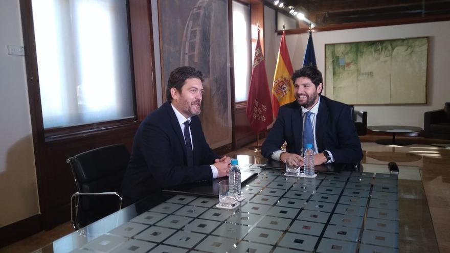 Reunión López Miras y Miguel Sanchez