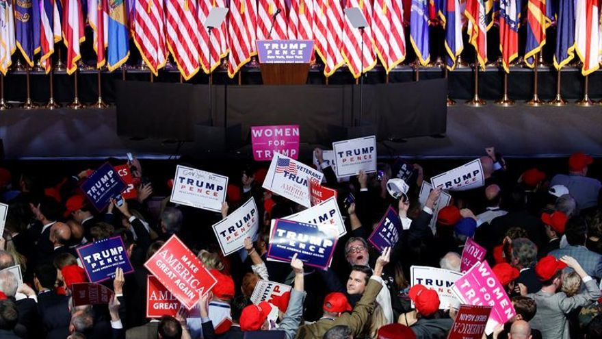 Trump se convierte en el primer republicano en ganar Pensilvania desde 1988